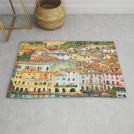 "Gustav Klimt ""Malcesine on Lake Garda"" Rug"
