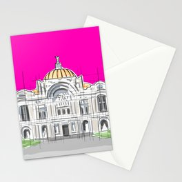 Bellas Artes architectural city ecopop Stationery Cards