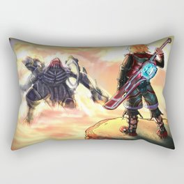 Journey Ahead (Xenoblade Chronicles) Rectangular Pillow