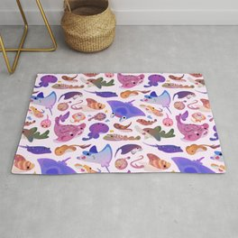 Ray day 2 - pastel Rug