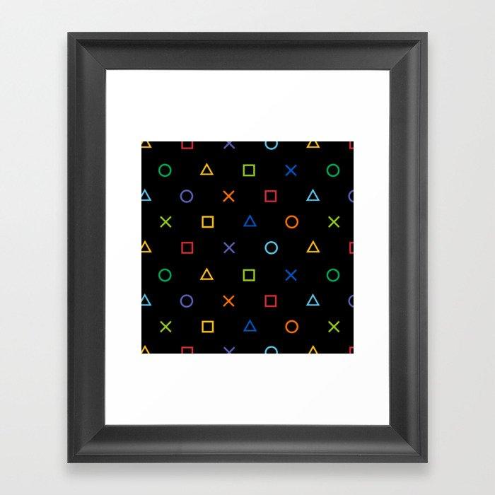 Colofrul Gamer Gerahmter Kunstdruck