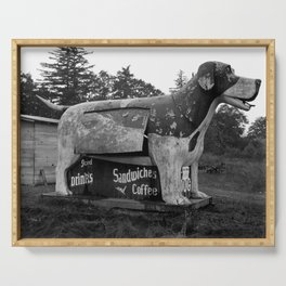 Giant Dog Refreshment Stand - Route 99 - 1939 Serving Tray