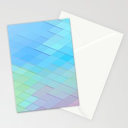 Re-Created Vertices No. 1 by Robert S. Lee Stationery Cards