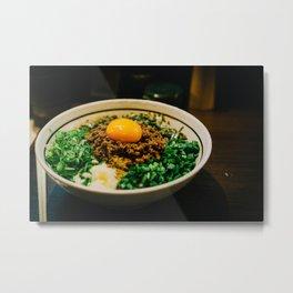 Taiwanese Maze-soba Metal Print