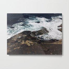 Beautiful waves at Clovelly Beach, NSW, Australia Metal Print