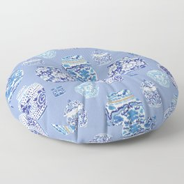 Chinoiserie Ginger Jar Collection No.6 Floor Pillow
