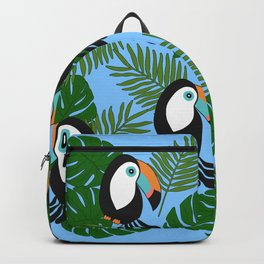 Toucan pattern Backpack