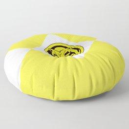 MMPR Yellow Coin Floor Pillow