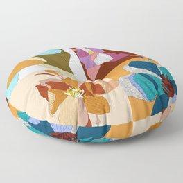 Bloom Floral Floor Pillow