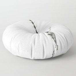 In my mind Floor Pillow