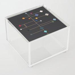 winter equinox Acrylic Box