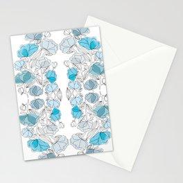 blue perversion Stationery Cards