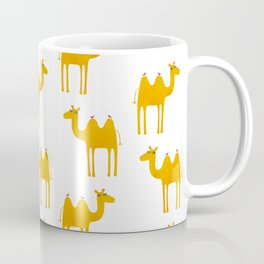 Camel with Birds Coffee Mug