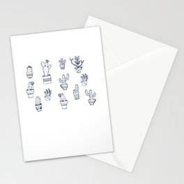 Cactus and Mint Stationery Cards