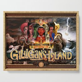 The Seven Deadly Sins of Gilligan's Island Serving Tray