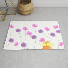 Lorax Fanart Watercolor Rug