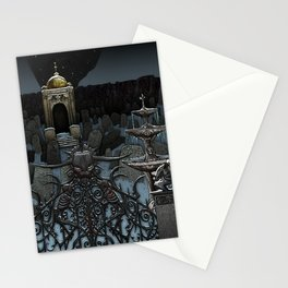 The Frozen Cemetary Stationery Cards