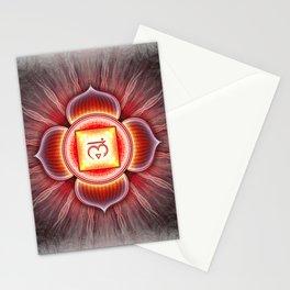 Muladhara Chakra Series IV Stationery Cards