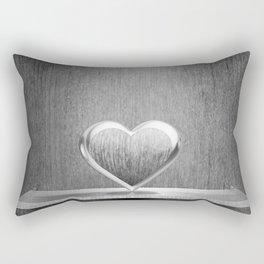 My Heart on the Shelf now Rectangular Pillow