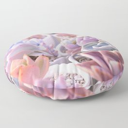 PASTEL SUCCULENTS Floor Pillow