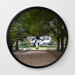Bassett Hall in Autumn Wall Clock