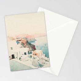 Santorini Sunsets Stationery Cards