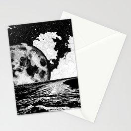 Night tide Stationery Cards