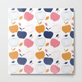cooking apple kitchen art Metal Print