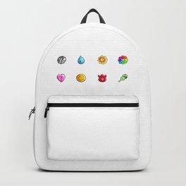 Kanto League Badges  Backpack