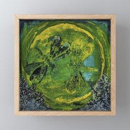 Dragonfly Dance #5 Framed Mini Art Print