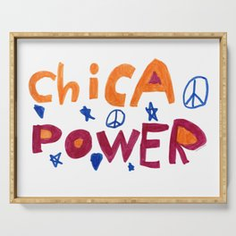 Chica Power  Serving Tray