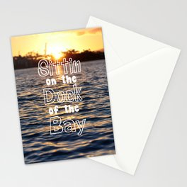 Sittin on the Dock of the Bay Stationery Cards