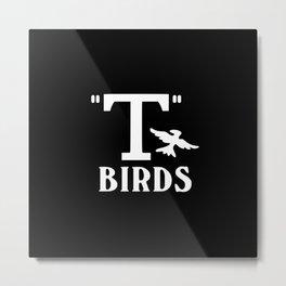 T birds music design Metal Print