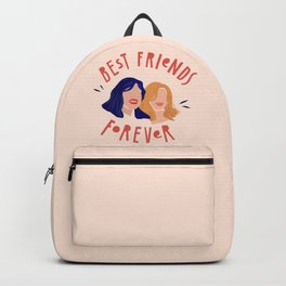 Best Friends Forever Girl Power Portrait Backpack