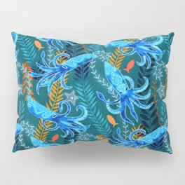 Sparkling Firefly Squid  Pillow Sham