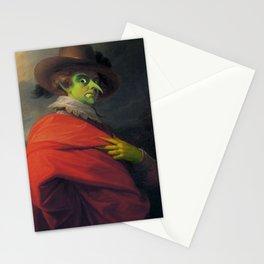 Creepy goblin portrait Stationery Cards