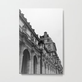 Louvre II Metal Print