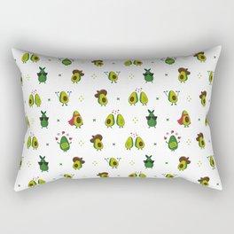 Avocado Pattern - holy guacamole collection Rectangular Pillow