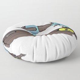 Pneumatic Nailer Nail Gun Drive Wall Hole Deep Floor Pillow