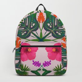 Tropical Mandala Backpack