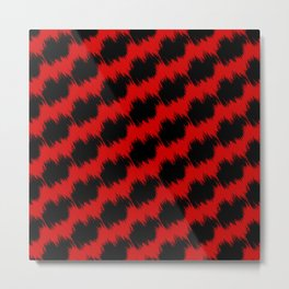 Fuzzy Patterns Metal Print