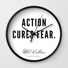 57  | Mel Robbins Quotes | 190802 Wall Clock