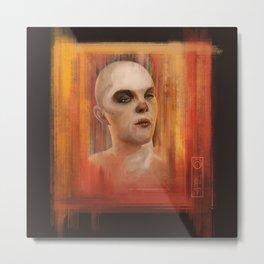 Nux digital portrait Metal Print