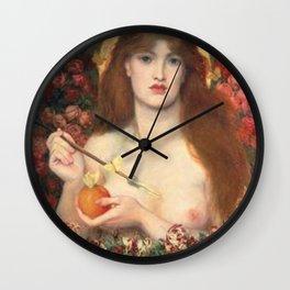 Venus Verticordia Rossetti Wall Clock