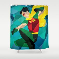 Dc Comics Man Of Steel Shower Curtain By Eric Dufresne Society6