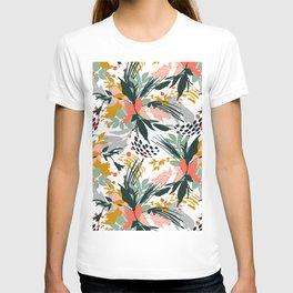 Botanical brush strokes I T-shirt