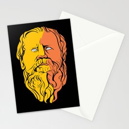Epicurus Philosopher Portrait Stationery Cards