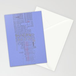 Stitches: City lines Stationery Cards