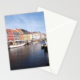 Colorful Nyhavn Canal, Copenhagen (Portrait) Stationery Cards