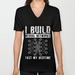 Code Programmer Data Scientist T-Shirt Gift - Unisex V-Neck